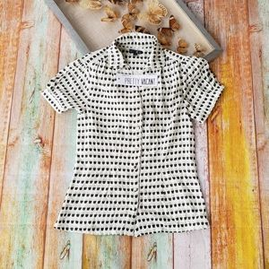 Pretty Vacant Gaby Novelty Button Down Top 4/6